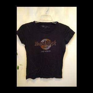Studded Hard Rock Las Vegas Tee - Med